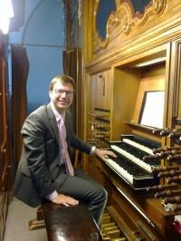 André de Jager, orgel