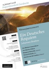 Nieuwjaarsconcert 2018: Ars Musica zingt 'Ein Deutsches requiem'
