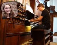 Martijn Borsje, orgel en Mirjam van den Hoek, zang