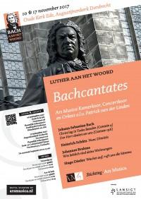 Luthercantates Bach (BACH AAN HET WOORD) ~Ars Musica Kamerkoor, Concertkoor en Orkest