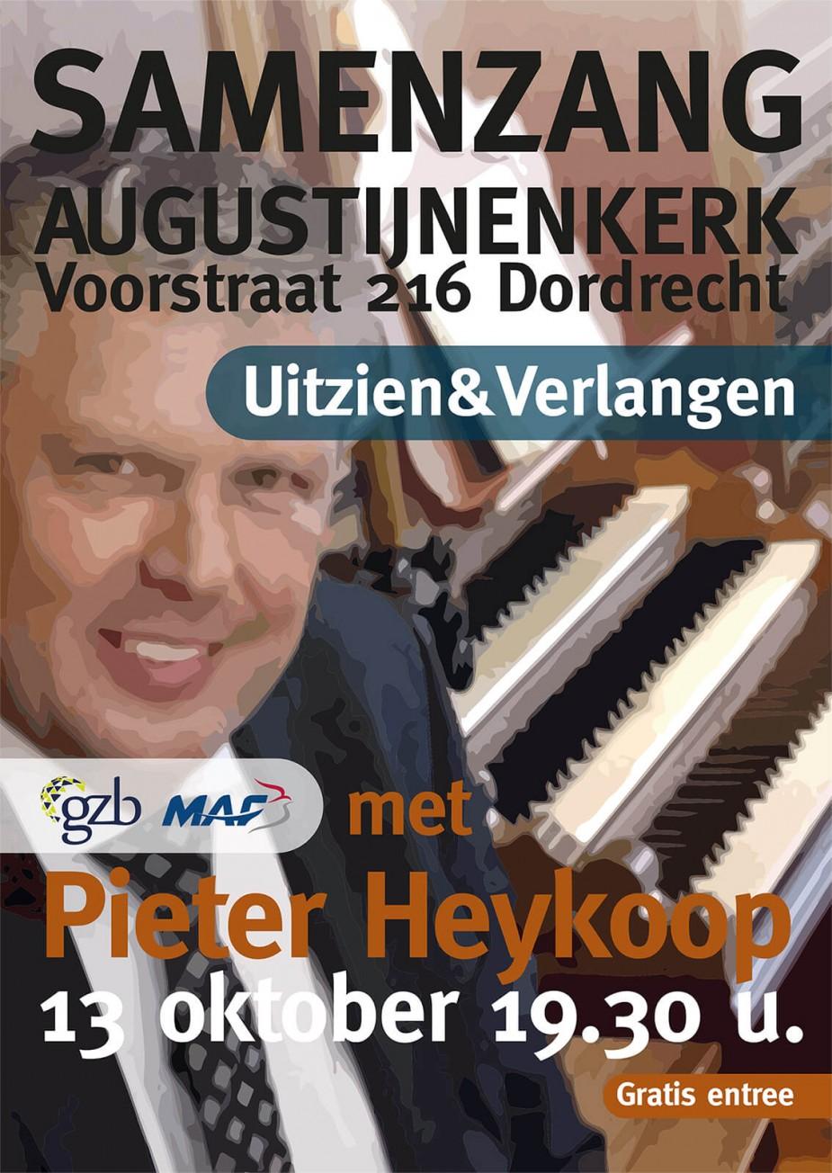 Samenzangavond met Pieter Heykoop