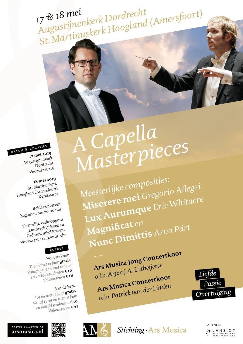 Concert Ars Musica - A Capella Masterpieces