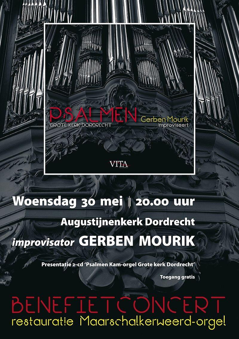 Gerben Mourik - Benefietconcert t.g.v. het Maarschalkerweerd-orgel